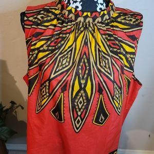 5 for$25💎Jones New York Tribal  Blouse Sz 3X